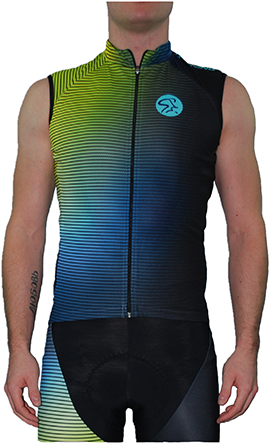 Spinning® Inspire Mens Sleeveless Jersey X-Large