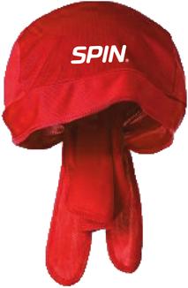 SPIN® Bandana Cap Red