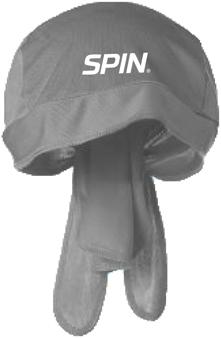 SPIN® Bandana Cap Grey