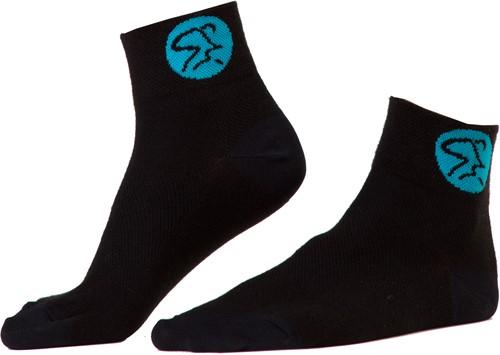 Medallion Socks Black/Blue
