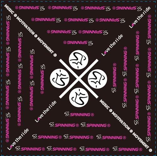 Spinning® Bandana Pink
