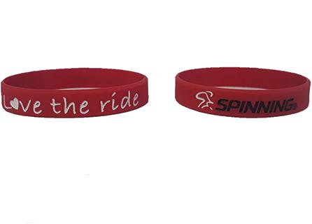 Bracelet Red Love the Ride