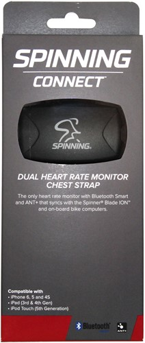 Spinning® Connect™ Dual Heart Rate Monitor Chest Strap