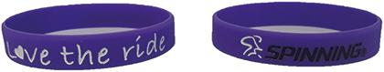 Bracelet Purple Love the Ride