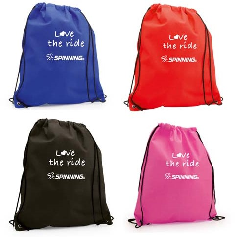 Love the Ride Drawstring Bags (various colors)