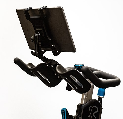 Spinning® Deluxe Media Mount - Compatible with Dual Water Bottle Holder