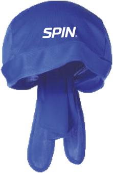 SPIN® Bandana Cap Blue