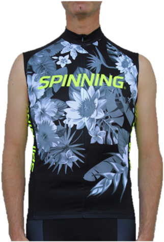 Spinning® Fiji Sleeveless Jersey Yellow