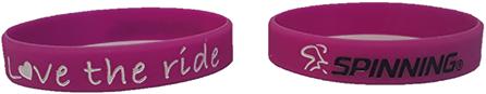 Bracelet Pink Love the Ride