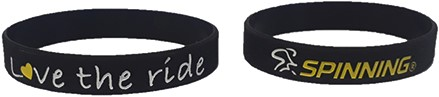 Bracelet Black / Yellow Love the Ride