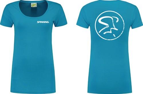 Womens Shirt Mid Blue
