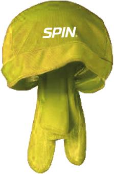SPIN® Bandana Cap Yellow