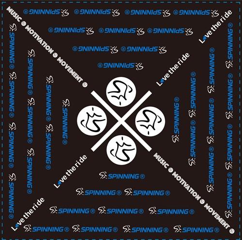 Spinning® Bandana Blue