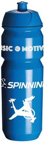 Spinning® Music - Movement - Motivation Water Bottle